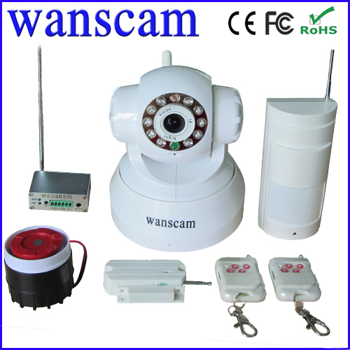 Popular alarm whistle ip camera wifi angle remote control in surveillance