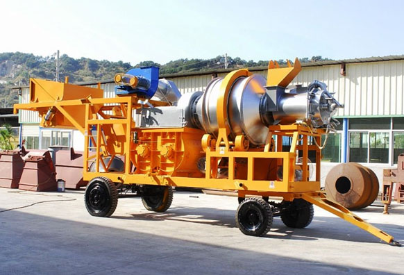 MC mobile asphalt plant