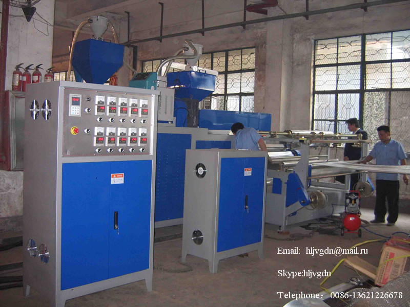 production line of air bubble film