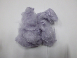 Polyester fiber for artificial fur