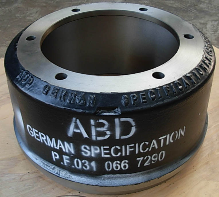 brake drums for BPW trucks