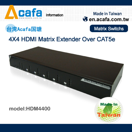 HDMI Matrix Switch Multiple Mixing Signals Extender
