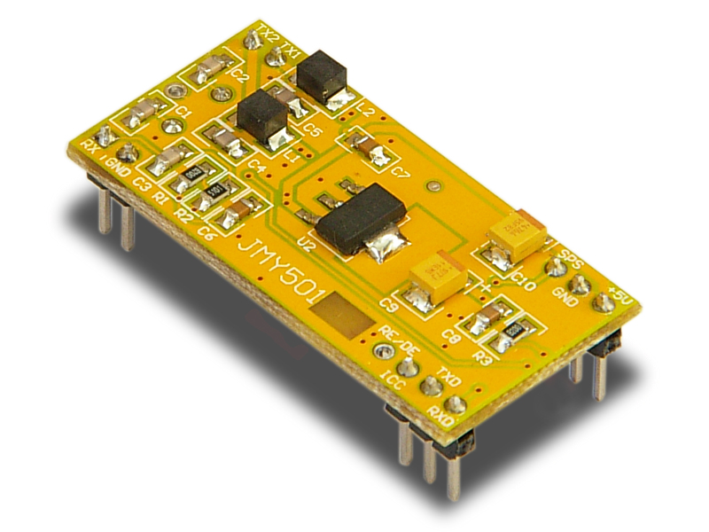 supply hf rfid module,IIC/UART,4 wires antenna