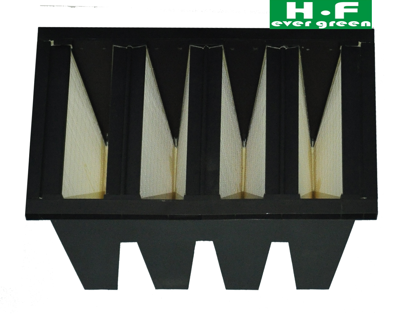 Compact filter  hepa filter v-bank air filter