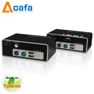 ACAFA KFE220 Combo KVM Extender 200m With DDC2B-Application Multimedia player system-TW