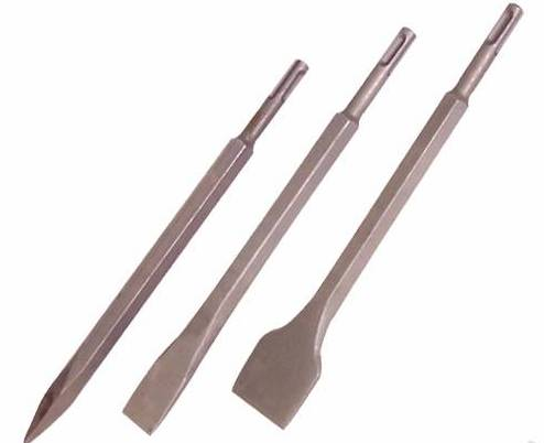 SDS PLUS Chisels (Point and Flat) (JL-SPC)