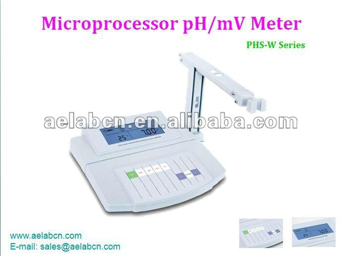 PHS-W series Microprocessor pH/mV Meter