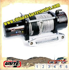 12000lb CE approved Car Electric Winch with wireless remote control