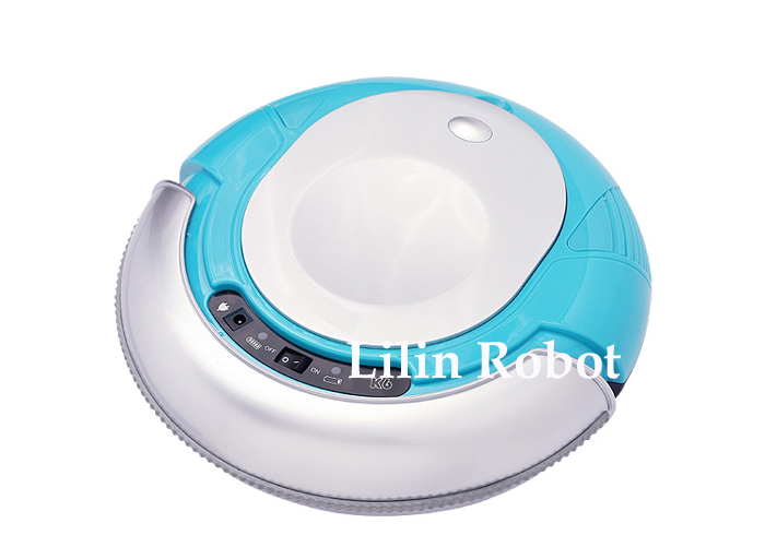3 in 1 Mini Robot Vacuum Cleaner (Vacuum, Sweep, Mop) , Removable 2 Side-brushes, Adjustable Anti-cliff Sensors,3 Working Modes