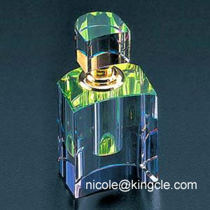 cystal oil perfume bottles in guangzhou