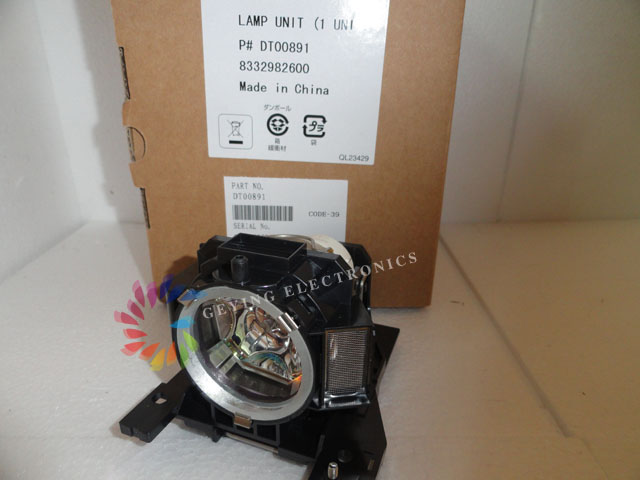 Projector Lamp DT00891 for HITACHI HCP-A8 CP-A100 A101 ED-A100