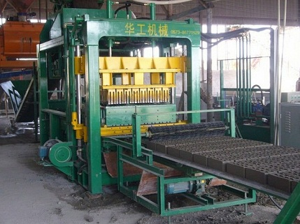 QT6-15 High speed with reasonable price brick making machine in China