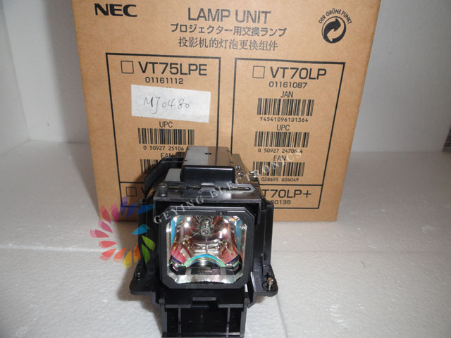 Projector Lamp VT75LP for NEC LT280 LT380 VT470 VT670 VT676 VT675