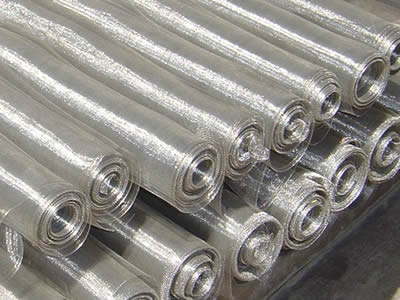 EXTRA-WIDE STAINLESS STEEL WOVEN WIRE CLOTH
