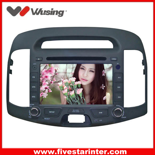2 din 7inch car audio and Multimedia for Hyundai Elantra 2006-2010 with Analog TV,GPS,Bluetooth
