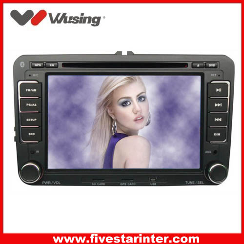 2 din car dvd head unit  for VW Magotan with GPS,DVD,Bluetooth