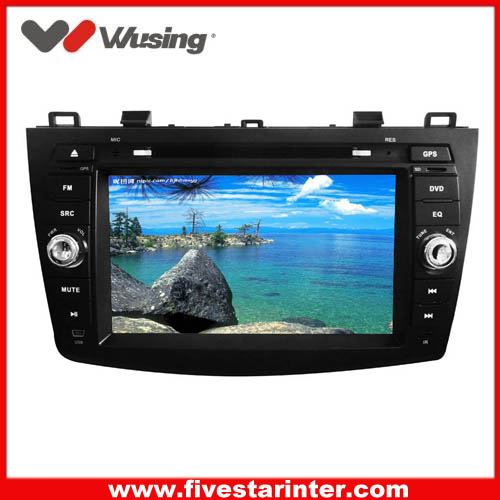 2 din car head unit dvd  for Mazda 3 with GPS,DVD,Bluetooth