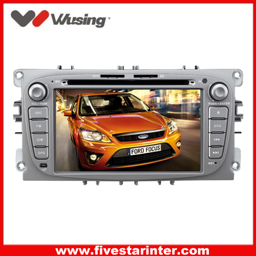 2 din car dvd head unit player for Ford Mendeo/Focus with GPS,DVD,Bluetooth