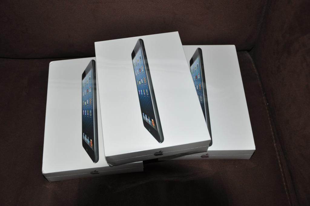 Apple iPad Mini Wi-Fi + 3G 16GB, 32GB, 64GB Unlocked Buy 2 Get 1 free Christmas Sales Promo