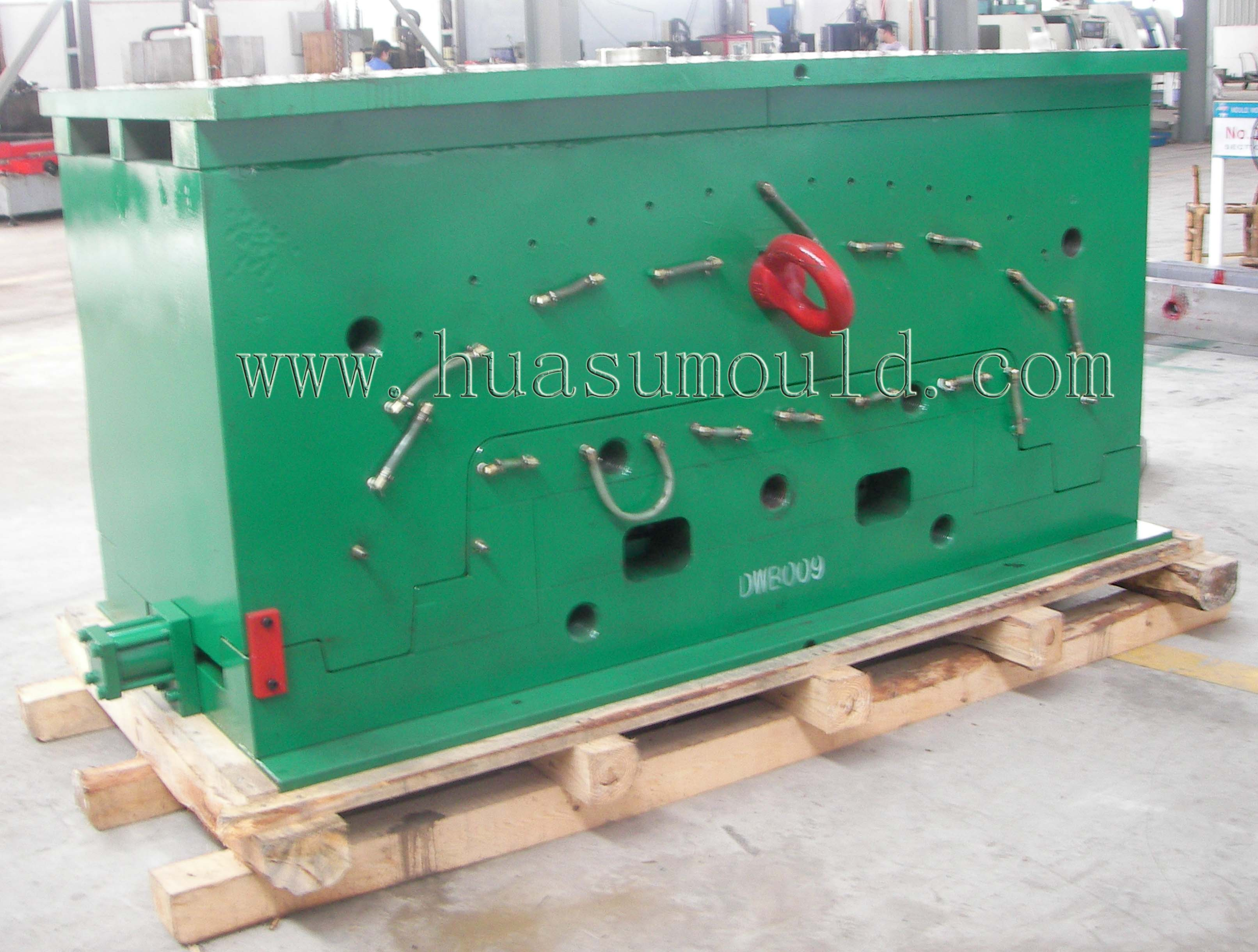Automotive bumper mould-2