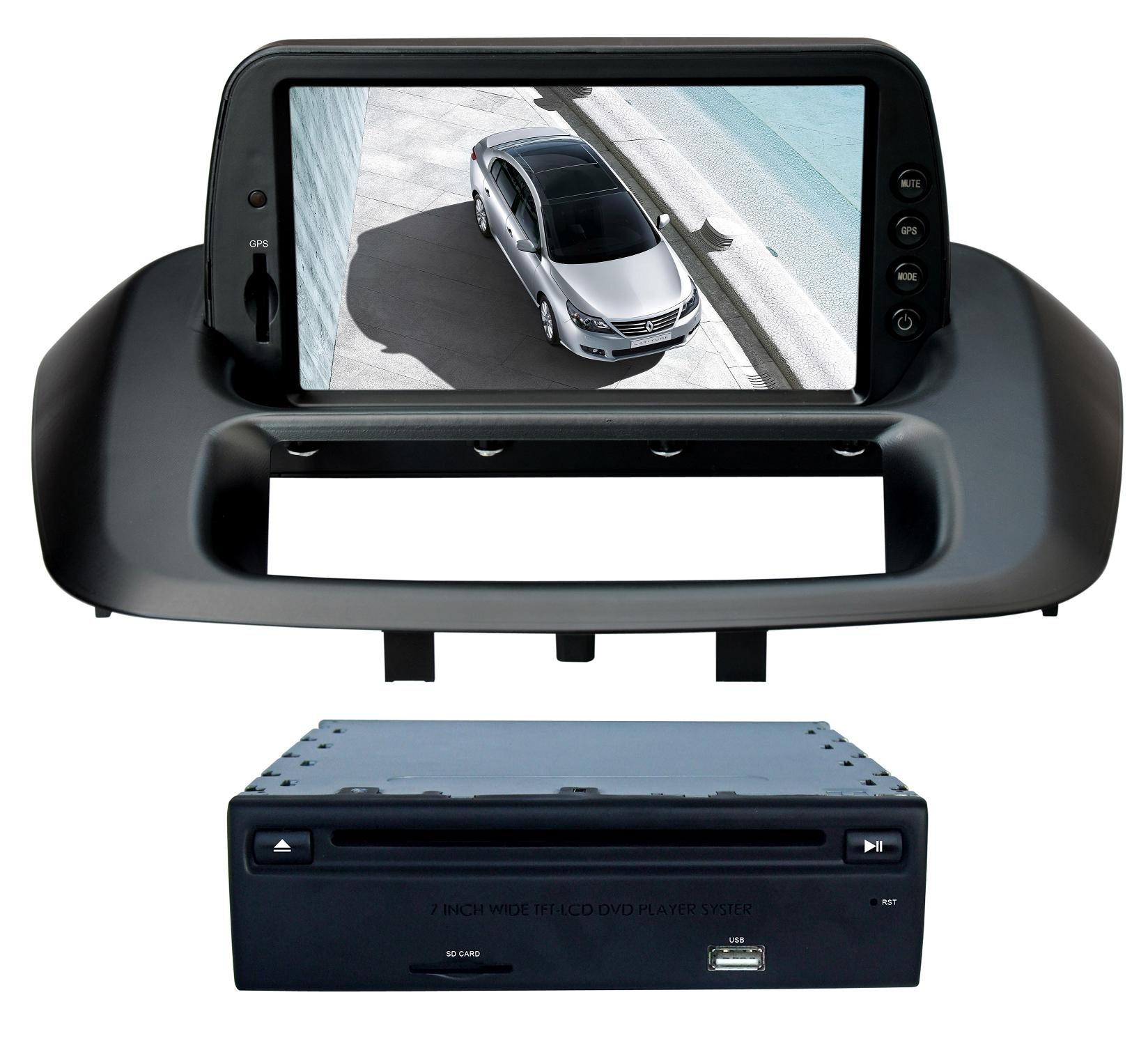 Car GPS TFT-LCD DVD Player For Renault_Fluence