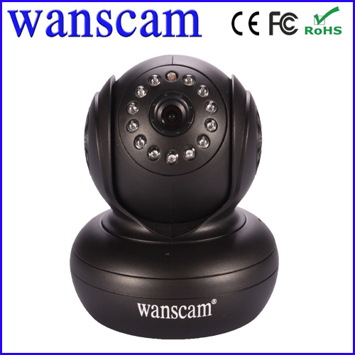 indoor wifi wireless pan tilt audio P2P wide angle lens robot camera ip