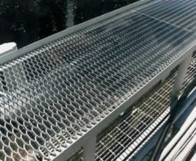 Expanded Steel Grating
