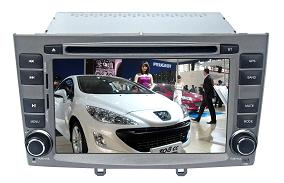 Car Peugeot Entertainment System DVD Player with GPS BT IPOD