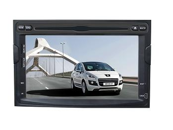 Car Peugeot Touch DVD Player with GPS/BT/DVD