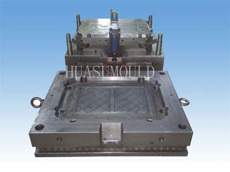 Plastic crate mould-1