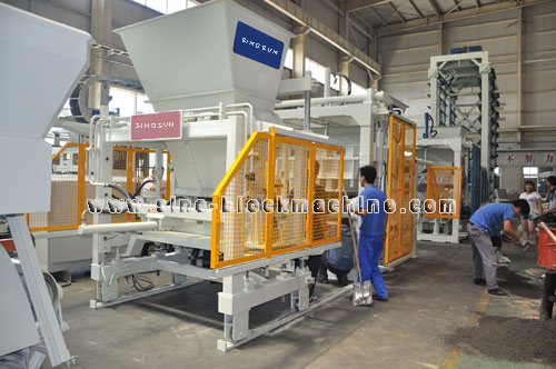 QFT 9-18concrete block machine