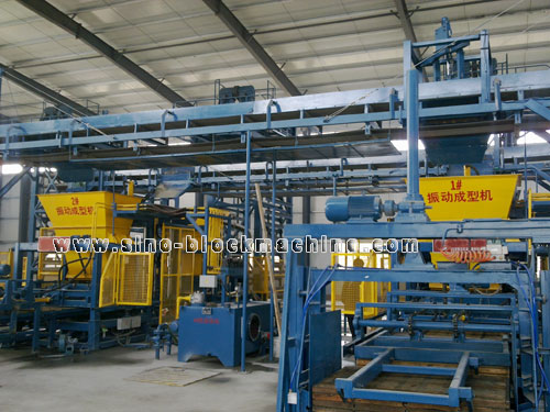 QFT 12-18 Concrete Block Making Machine