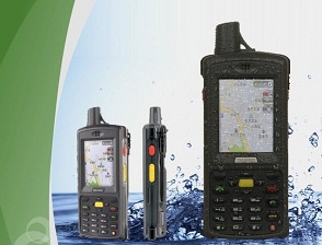 IP64 Quad band, GPRS Radios,Handheld GPS DataTerminal, Group Talking, Dual SIM,GLONASS optional