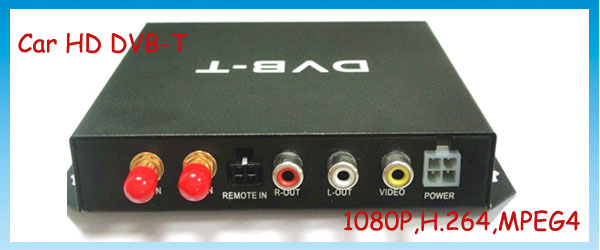 Car DVB-T with 1080P,MPEG4 and PVR