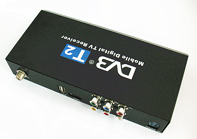 Car DVB-T2 Receivoer with 1080P,MPEG4 and PVR