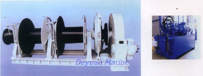 24KN Hydraulic anchor windlass