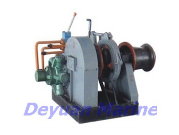 52KN  Hydraulic anchor windlass and mooring winch