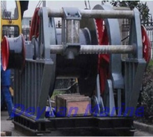 60t Hydraulic towing winch