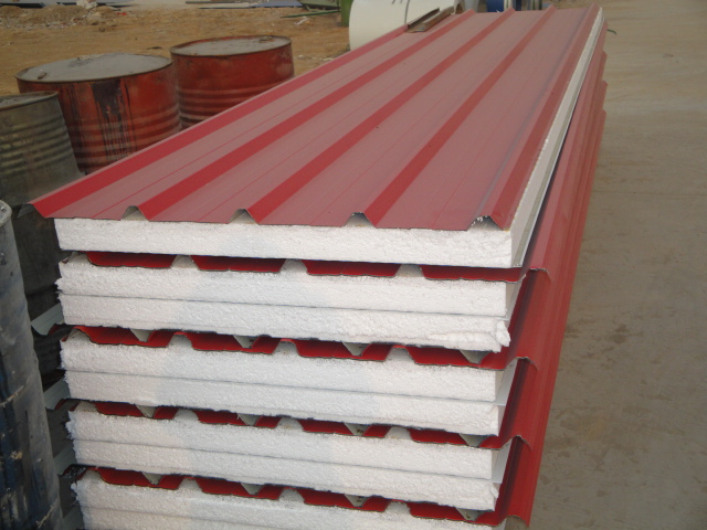 Color Steel EPS Sandwich Roof Panel