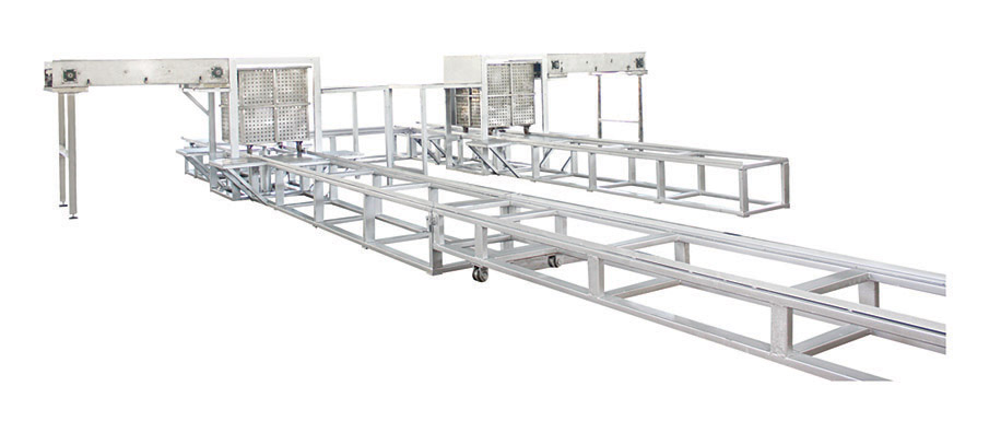 cage loading & unloading machine