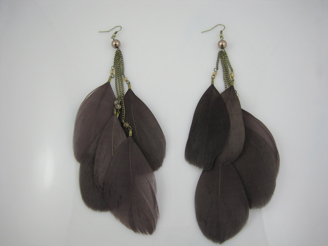 Fashion Jewelry Feather designs