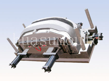 Automotive bumper mould-5