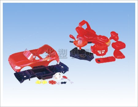 Plastic baby carriage mould