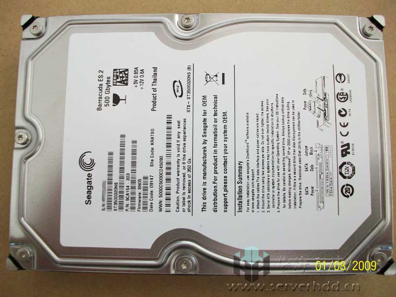 sell ST91000640NS server hard disk drive 1t SATA