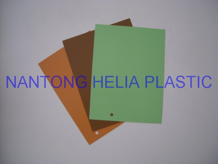 Rigid pvc film/sheet-- for molding, vacuum and thermoforming