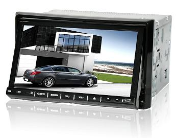 7 inch Double Din in-dash DVD Player with GPS BT IPOD