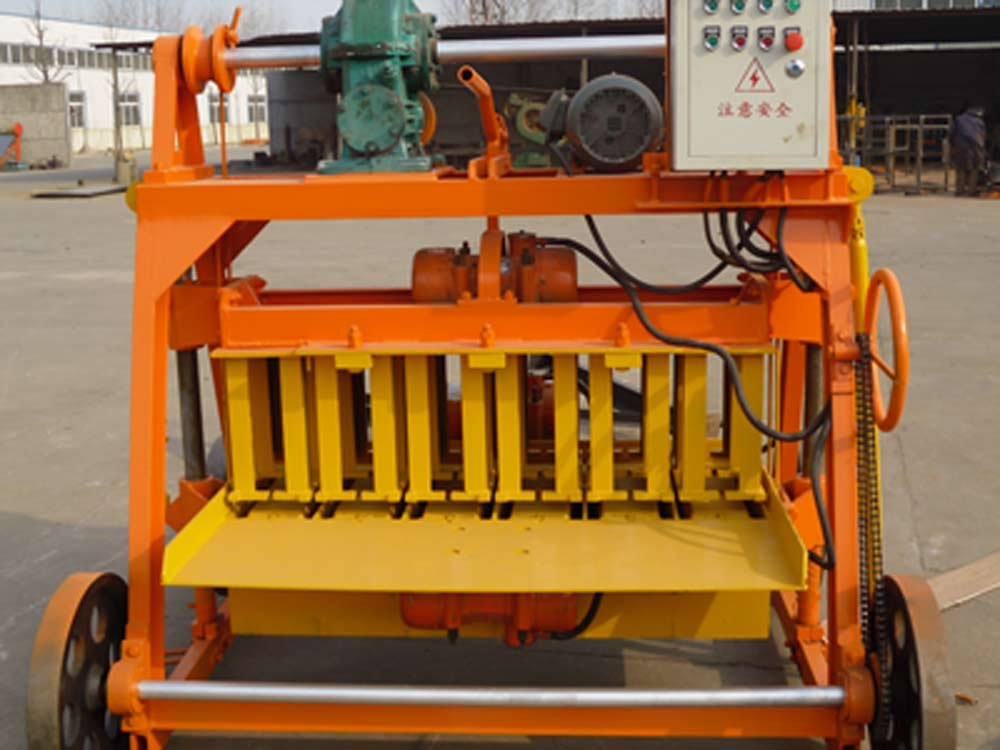 Small Block Making Machine QMJ4-35