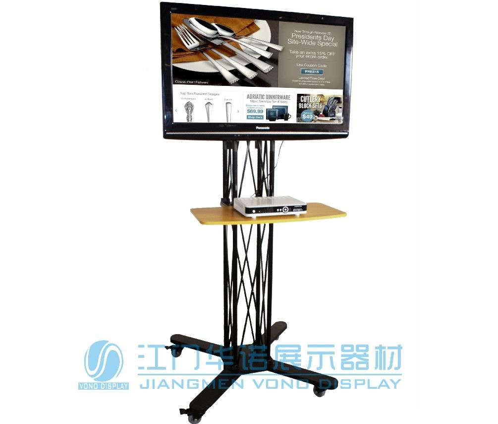 TV Stand folding caster truss ( LS-003B )