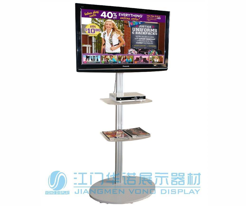 Exhibition Stand Tv : Single column tv stand sales and marketing equipment