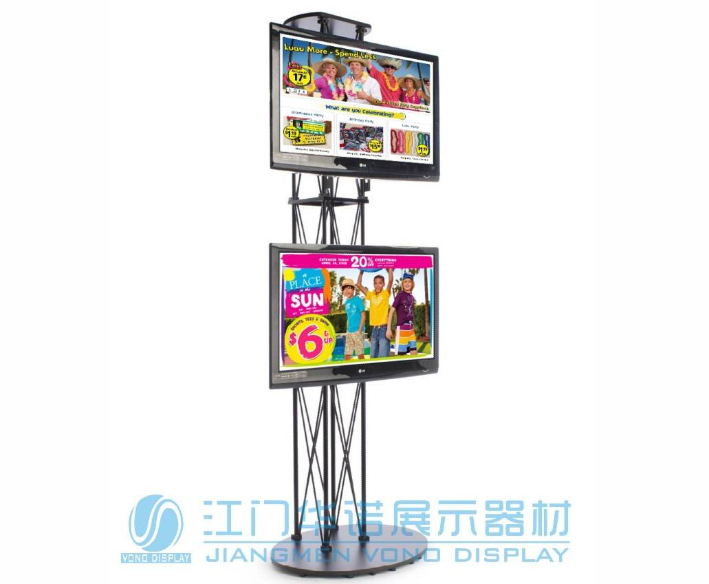 Tall Tv Stand folding truss ( LS-007 )